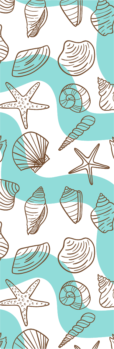 TenStickers. Shells Shower Sticker. If you're looking for the perfect cheap, easy and stylish way to decorate your bathroom, look no further than this beach themed shower sticker!