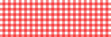TenStickers. Sticker frise couleurs nappe. Sticker d'une frise aux couleurs rouge et blanche nappe idéal pour donner une ambiance champêtre et traditionnelle à votre cuisine.