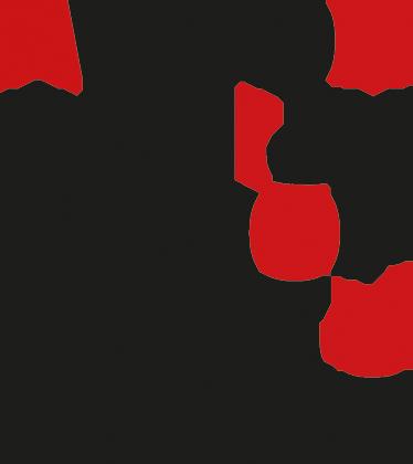 TenVinilo. Vinilo decorativo para salón abecedario. Vinilos pared decorativos con una elegante representación de un alfabeto compuesto con una tipografía helvética.