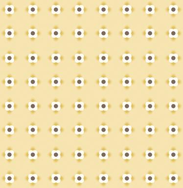 TENSTICKERS. 幾何学的な小さな花の花の壁デカール. 64色の花が付いた花のステッカーシート。モダンで新鮮な方法で家のどの部屋にも飾るのに最適です。気泡防止ビニール。