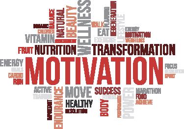 TenStickers. Muursticker fitness motivatie. Een sport muursticker om motivatie en kracht van te verkrijgen. Krachttraining, conditie opbouwen of actief afvallen. No pain no gain.