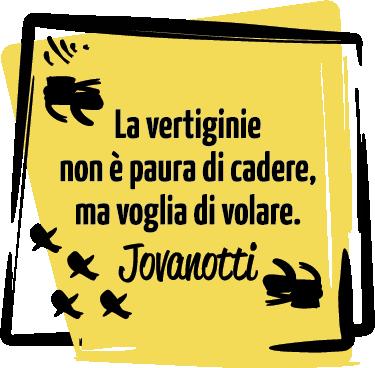 TenStickers. Adesivo la vertiginie Jovanotti. Adesivo la vertigine Jovanotti, ottimo per decorare i vari ambienti della casa con una delle frasi di uno dei cantanti italiani più conosciuti.