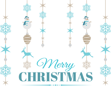 TenStickers. Festive pendant Christmas wall sticker. Create that wonderfully festive atompshere you've been waiting for all year long with this merry Christmas sticker. Decorate in an easy and cheap way