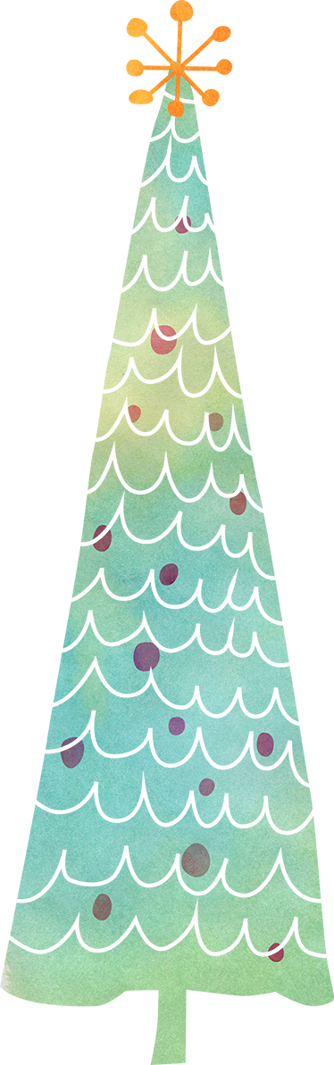 TenStickers. Christmas tree wall sticker. 'Rockin' around the Christmas tree, At the Christmas party hop', rock around your own very special Christmas tree sticker this year!
