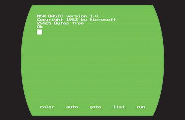 TenStickers. Sticker pour pc écran MSX. Un autocollant désigné exprès pour votre ordinateur portable, et représentant un écran MSX, pour une déco originale. +50 Couleurs Disponibles.