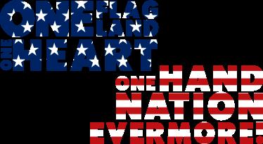 TENSTICKERS. 1つの旗1つの土地の壁のステッカー. アメリカについてのオリバー・ウェンデル・ホームズの有名な引用ステッカー。 1つの旗、1つの土地、1つの心、1つの手、1つの国家の永遠の壁のステッカー。