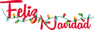 Vinilo Decorativo Luces Navidad Tenvinilo - Decorativos-de-navidad