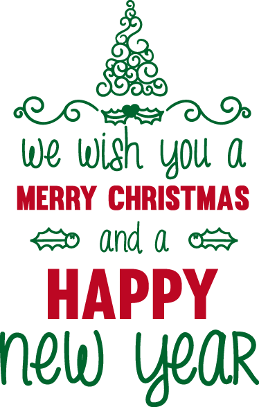 TenStickers. Christmas text christmas wall sticker. We all know the song, and we all say this popular festive greeting, why not have the walls say it this Christmas period with our text stickers?