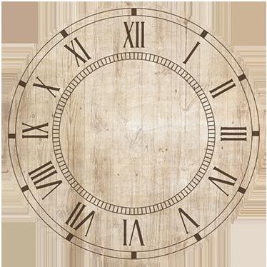 TenVinilo. Vinilo reloj pared adhesivo vintage. Decora tu pared con este fantástico vinilo de reloj adhesivo en acabado mate y con un estilo vintage. Fácil aplicación y sin burbujas