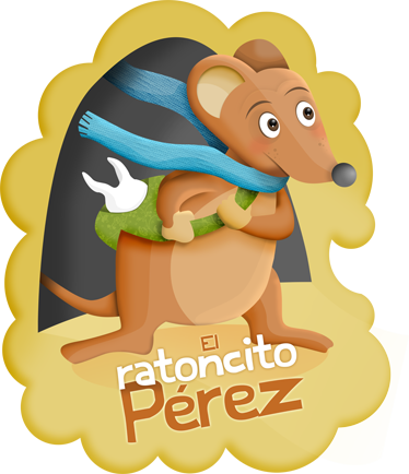 Vinilo infantil ratoncito Prez texto  TenVinilo