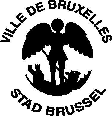 TenStickers. Muursticker stad Brussel. Wilt u uw liefde voor de prachtige stad Brussel op uw muur tonen. Deze mooie muursticker met het logo van Brussel is precies wat u zoekt!