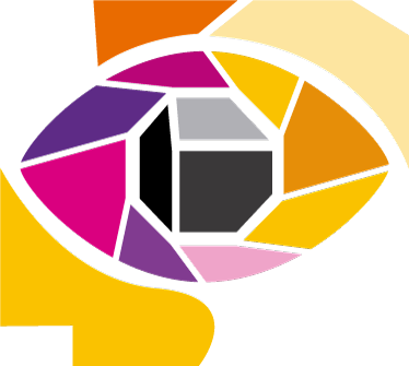 Tenstickers. Mosaiikki silmä sisustustarra. Mosaiikki silmä sisustustarra. Kaunis ja värikäs koristetarra seinälle, joka esittää silmää ja on koottu erivärisistä mosaiikkipaloista.