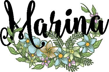 TenStickers. Sticker végétal personnalisable. Sticker mural floral personnalisable avec un prénom. Si vous êtes un amateur de la nature, il est fait pour vous.