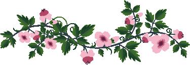 TenVinilo. Vinilo decorativo perchero floral. Vinilo perchero formado por una rama llena de hojas y flores rosadas en la que podrás poner los colgadores. Fácil de colocar y acabado en mate.