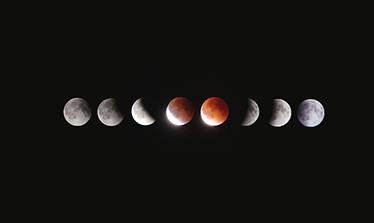 TenStickers. Sticker PC das luas. Dê vida ao seu portátil com este sticker PC ilustrando as várias fases da lua, inclusive o eclipse dessa, irá tornar o seu portátil famoso.