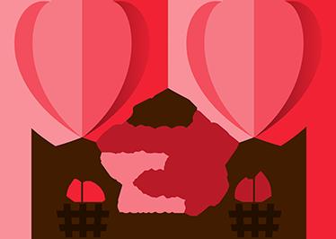 Decoracion San Valentin Vinilo Tenvinilo - Decoracion-san-valentin
