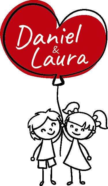 TenStickers. Wandtattoo Herzballon personalisierbar. Süßes Wandtattoo mit zwei Figuren, die an einem Herzballon festhalten. Der ballon kann individuell mit Namen gestaltet werden!
