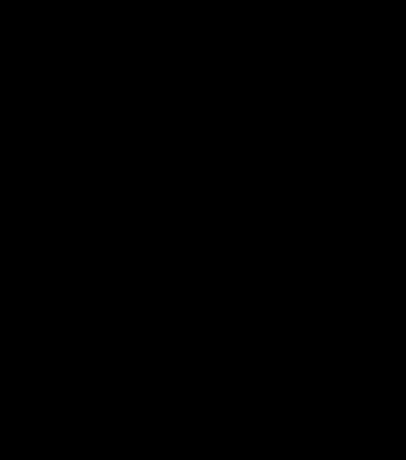 TenStickers. Wandtattoo geometrischer Einhornkopf. Schönes Wandtattoo mit einem geometrischen Einhornkopf. Tolle Dekorationsidee für das Kinder- oder Schlafzimmer.