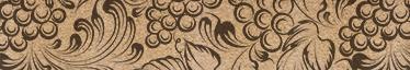 TenStickers. Frise adhésive effet liège. Frise adhésive murale avec un effet simili liège. Idéal pour décorer les murs de votre salon ou salle à manger. Envoi Express 24/48h.