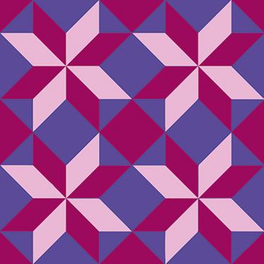 TenVinilo. Vinilo azulejo hidráulico geométrico. Dale color a cualquier estancia de tu casa con un patrón geométrico en adhesivo, disponible en el tamaño que necesites.