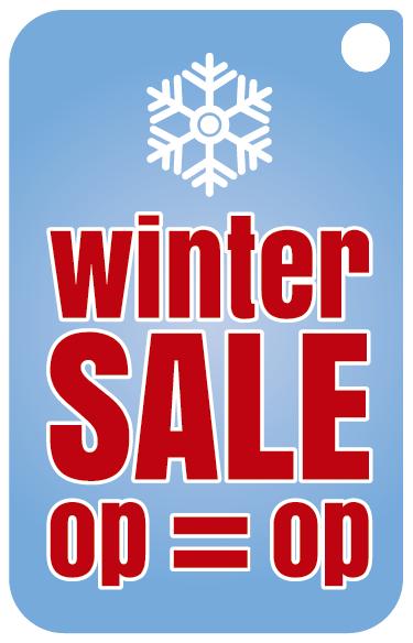 TenStickers. Reclame sticker winter sale op is op. Geeft u ook een wintersale? Promoot uw winkel dan met originele reclamestickers van Tenstickers! Voordelige promotie met grote resultaten.