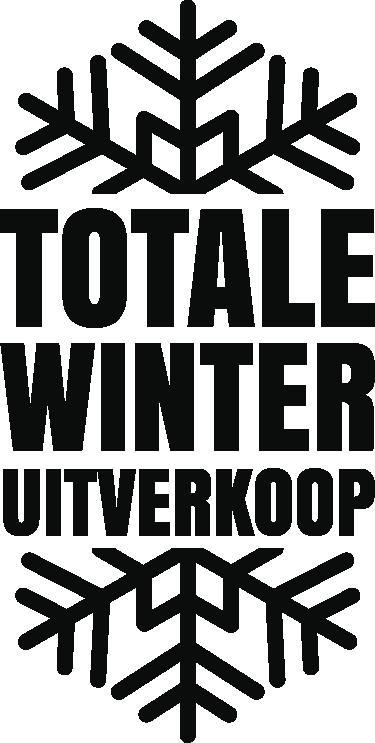 TenStickers. Winkel sticker winter totale uitverkoop. Voor winkels die een winter sale geven waarin echt alles de deur uit moet, hebben we nu deze fraaie totale uitverkoop reclame sticker, wintereditie.