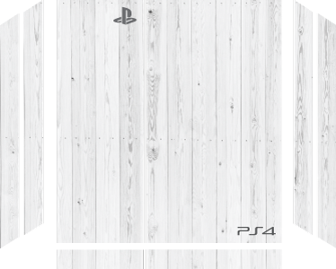 TenStickers. White Texture PS4 Skin Sticker. Make your PlayStation stand out from the crowd with this fantastic console decal! +10,000 satisfied customers.