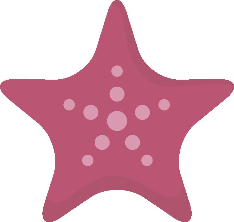 TenStickers. 海星墙面装饰. 这个漂亮的粉红色海星孩子卧室墙贴为您女儿的房间提供新的装饰!非常容易使用。