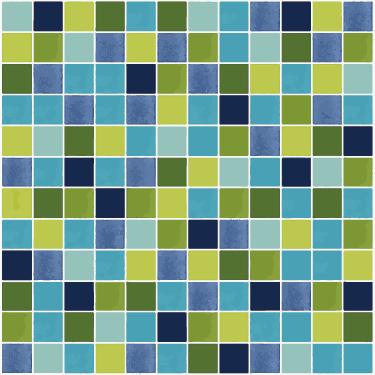Piastrelle adesive mosaico per bagno o cucina - TenStickers