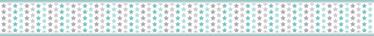 TENSTICKERS. スターバランスボーダーステッカー. 子供の寝室の装飾のためのベビースター保育園の壁のステッカー。複数の星をプリントしたキュートなデザイン。どのサイズでもご利用いただけます。