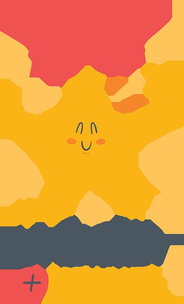"""TenVinilo. Vinilo estrella personalizada pared. Vinilo adhesivo para habitación infantil formado por el texto """"La estrella + brillante"""", el cual se puede personalizar con el nombre que indiques."""