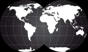 TenStickers. Muursticker Wereldmap. Een leuke muursticker van een wereldkaart afgebeeld op twee wereldbollen. Afmetingen naar eigen wens aanpasbaar. Voordelig personaliseren.