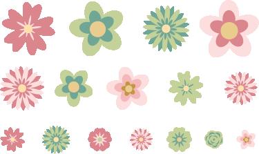 TenStickers. Fahrradsticker Blumen. Geben Sie Ihrem Zuhause mit diesem tollen Wandaufkleber einen ganz neuen aufregenden Touch, der beeindruckt! Riesige Auswahl