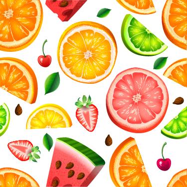 TENSTICKERS. ジューシーなフルーツキッチンウォールステッカー. さまざまな果物の装飾的なボーダーステッカーでいっぱいのキッチンは、すばやく簡単に変形します。お気に入りの果物を見つけよう!