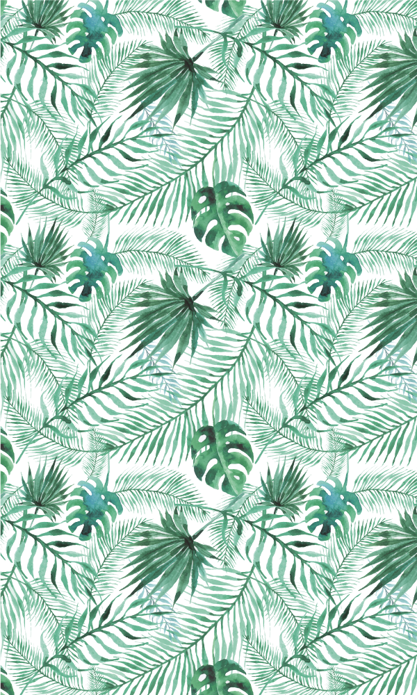 TenStickers. Tropical Plants Shower Decal. A colourful bathroom sticker that will bring a unique touch to your shower glass. This shower screen sticker will make you feel as if you are taking a tropical shower in the Amazon Rainforest.
