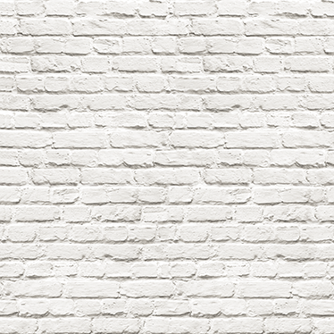 TenStickers. White brick vinyl  print wall sticker. Cover a wall space, be it in the home or an office with our self adhesive wall brick sheet wall sticker. It is available in any size required.