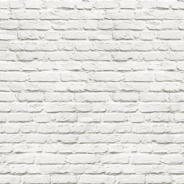 Vinilo ladrillo blanco para pared - TenVinilo