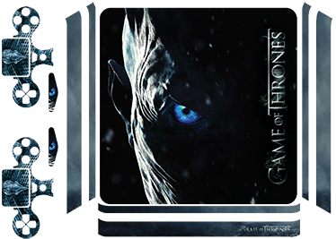 TenStickers. Game of Thrones PS4 Skin. Winter is Coming. Decorate your PS4 and controller with this superb Night King Game of Thrones PS4 skin. Choose your size.