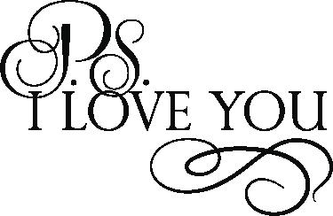 TenStickers. PS I love you muursticker. De muursticker met tekst PS I love you is geschikt voor iedereen die van liefde houdt . Breng wat romatiek in de kamer met deze sticker.