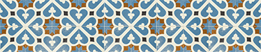 TenStickers. Portuguese Tile Sticker. Lovely blue and orange design to decorate your tiles with. Our Portuguese tile decals are perfect for your kitchen or bathroom.