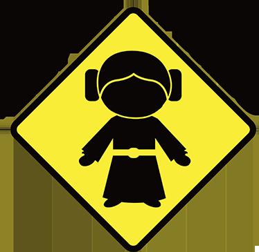 TenStickers. Autocolante para carro Baby Leia a bordo. Se fores fã da saga de filmes Star Wars, temos o perfeito autocolante para carro para ti, com uma imagem da Baby Leia a bordo.