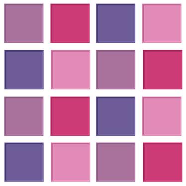 TenStickers. Adesivo de azulejos tons de rosa. A sua cozinha está a precisar de uma mudança de visual? Então veja este autocolante decorativo capaz de alterar a disposição desta.