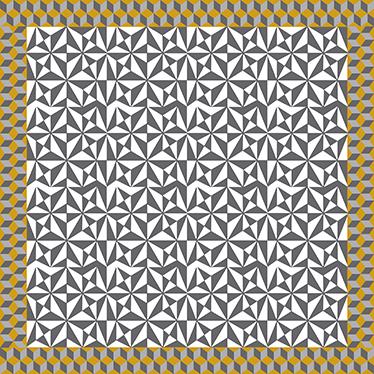 TENSTICKERS. アラビア語のモザイクビニールステッカー床タイルデカール. アラビア語の装飾的なモザイクの床のステッカーで、家や選択した場所の床のスペースを飾ります。必要なサイズで利用できます。