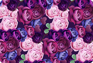 TenStickers. Notebook violet flowers laptop skin. Decorative flower laptop sticker to wrap a laptop in delightful style. It is available in any size of choice. Easy to apply and adhesive.