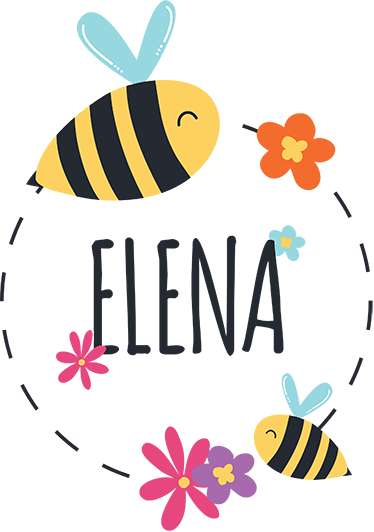 TenStickers. Spring custom name illustration wall art stikcer. Get our customized insect wall art sticker to decorate the bedroom space of your kid. It is available in any size desired.