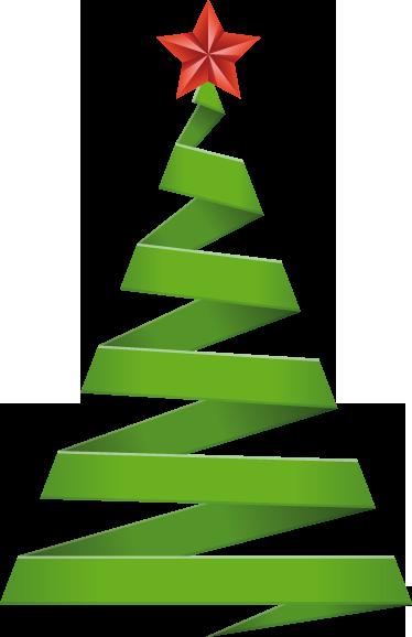 Vinilo decorativo rbol de navidad tenvinilo - Originales arboles de navidad ...