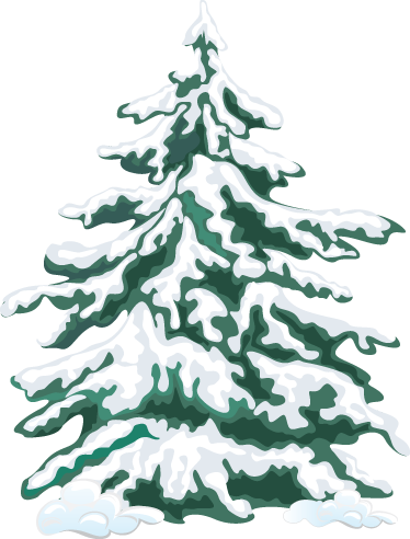 TenStickers. Christmas Tree with Snow Wall Sticker. Christmas wall stickers - shows a Christmas tree covered in snow. Christmas tree with snow decal can go anywhere in your home to add some festive cheer.