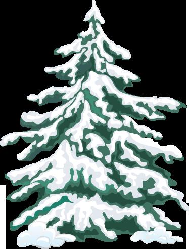 TenStickers. Julestickers grantræ. Dette jule klistermærker med motiv af et grantræ er ideelle til dekorationen af din butik.