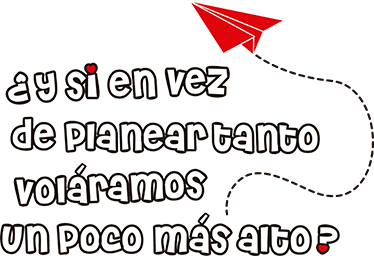TenStickers. Mafalda  motivational sticker. Motivational text wall striker designed in mofalda style. It is available in different size options and it application is easy and simple.