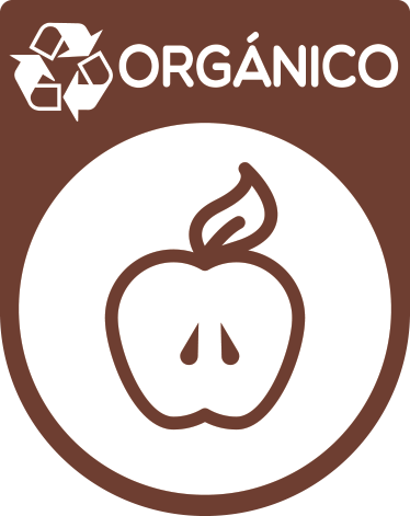 TenStickers. Organic recycling  emoji wall sticker. Organic recycling  emoji sticker to place on dustbin containers to indicate where to put organic waste. It is easy to apply and available in any size.